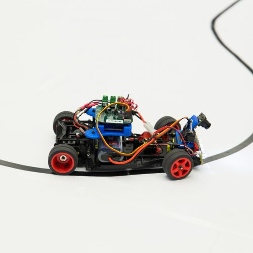 robotic car on track