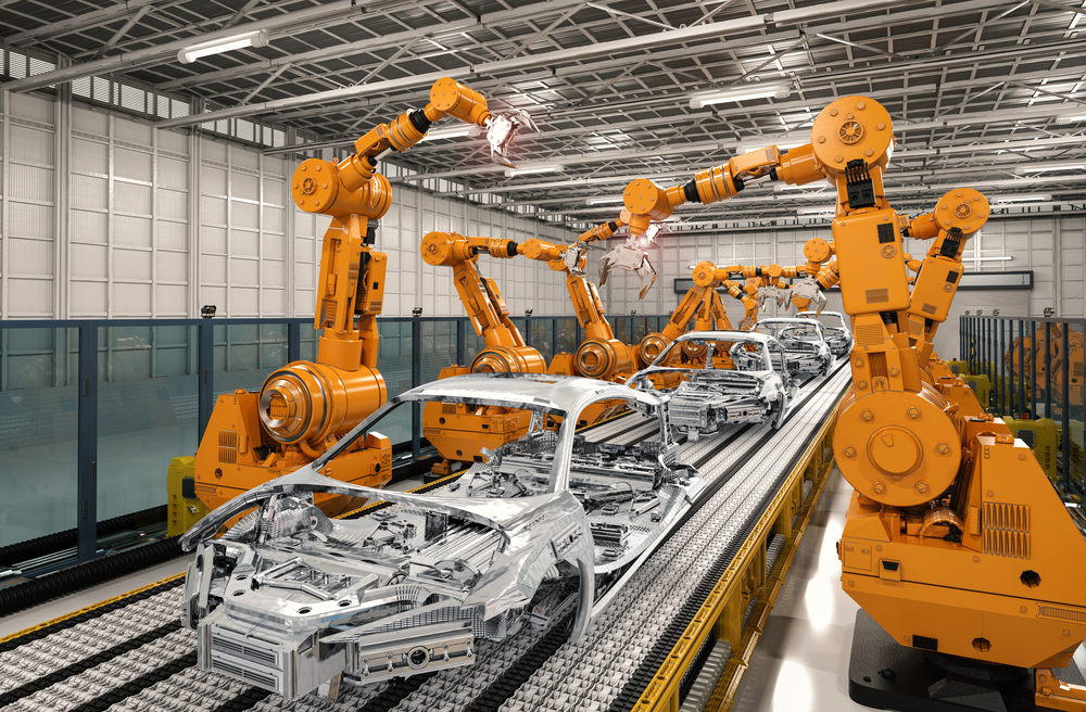 robotic assembly of cars