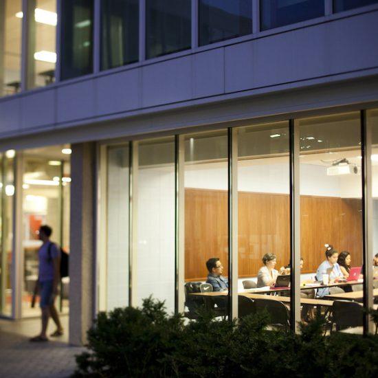 UIC east campus classroom