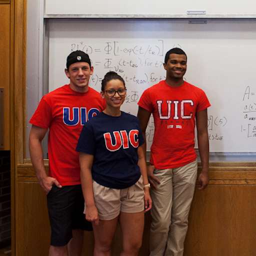 UIC students in classroom
